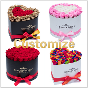 Customize Your Huggy Box (Starting From $279.99) - The Only Roses