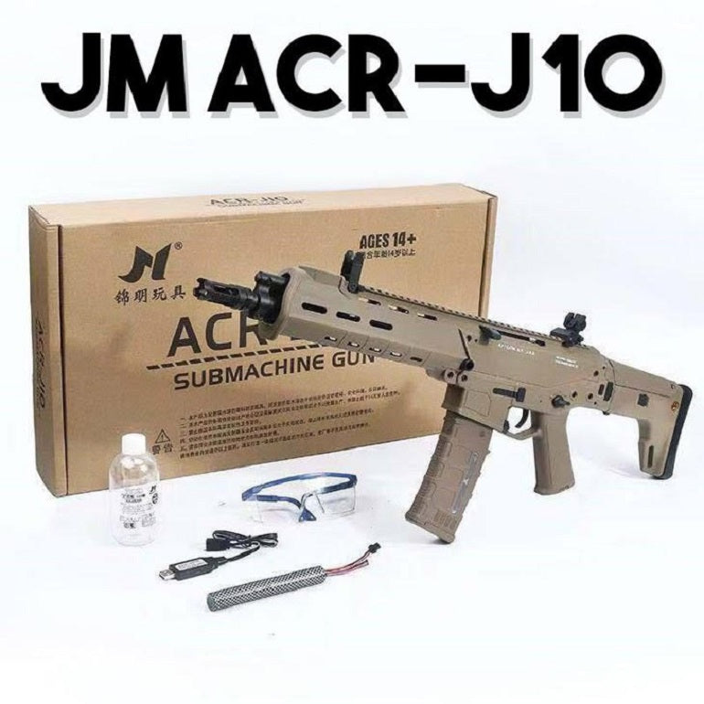 GEL BLASTER PACKAGE DEAL ACR J10 RIFLE PLUS DESERT EAGLE PISTOL, SPECIAL*