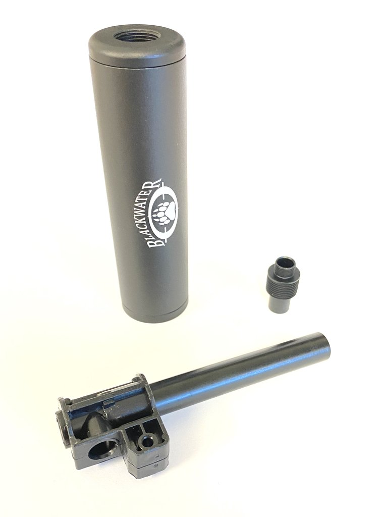 Glock Metal Suppressor/Silencer with Metal Barrel and T piece