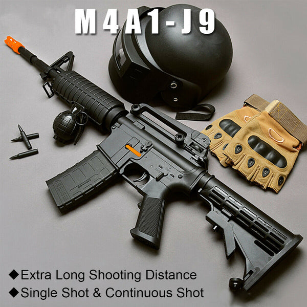 M4 Gen 9 Rifle- GEL BLASTER With Upgraded 11.1v Battery, 50% More Rapid Fire Power!