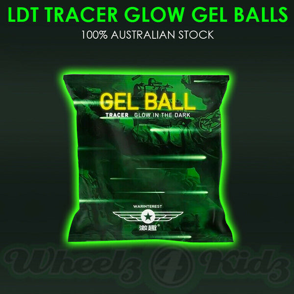 LDT WARINTEREST 7-8MM 3,000 TRACER GLOW IN THE DARK GEL BALLS LUMINOUS
