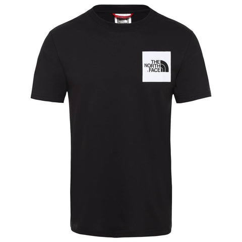 The North Face Fine T-Shirt Black/White