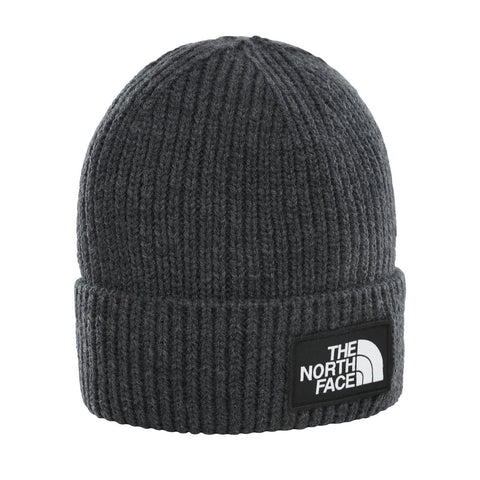 The North Face TNF Logo Box Beanie Grey