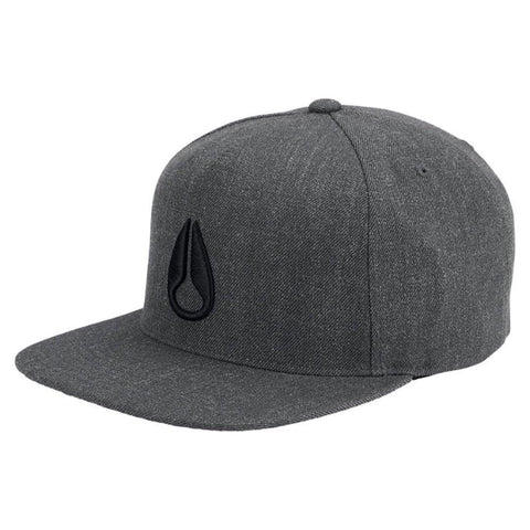 Nixon Simon Snapback Dark Grey Heather