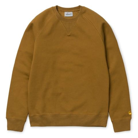 Carhartt Chase Sweat Hamilton Brown