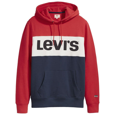 Levi's Colorblock Hoodie Red/White/Blue