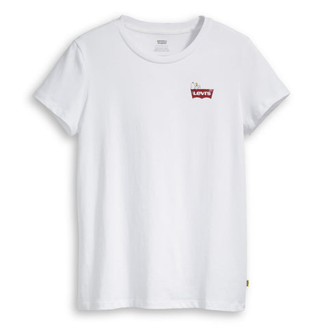 Levi's x Peanuts The Perfect HSMK T-Shirt White