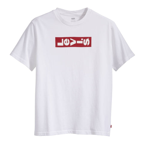 Levi's Oversized Graphic T-Shirt White