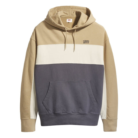 Levi's Wavy Colorblock Hoodie Harvest Gold/Fog
