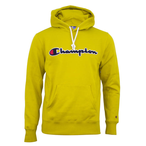 Champion Hooded Sweatshirt Yellow