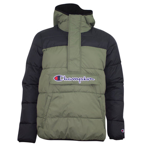 Champion Hooded Jacket Green/Black
