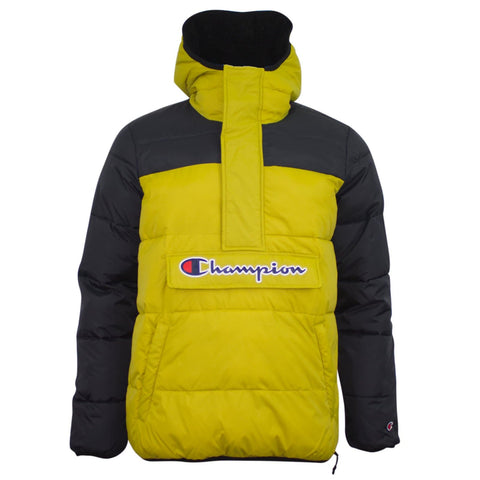 Champion Hooded Jacket Yellow/Black