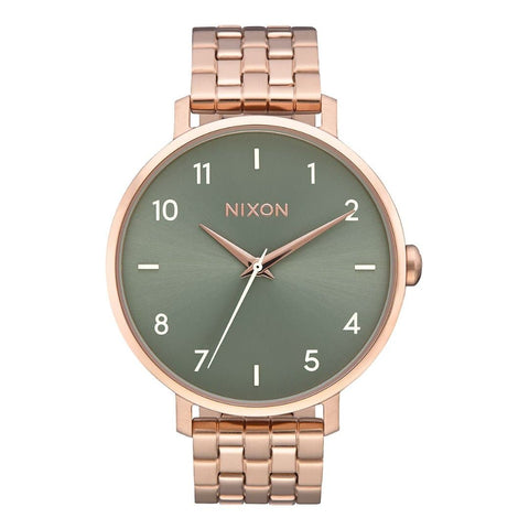 Nixon Arrow Rose Gold/Sage