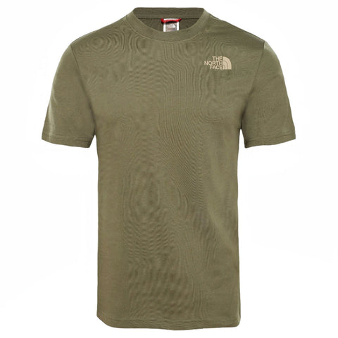 The North Face Red Box T-Shirt Green/Camo