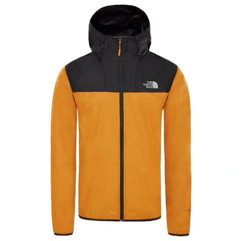 North Face Cyclone 2 Hooded Jacket Yellow/Black
