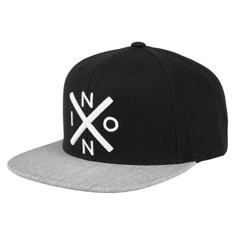 Nixon Exchange Snapback Black/Heather Grey