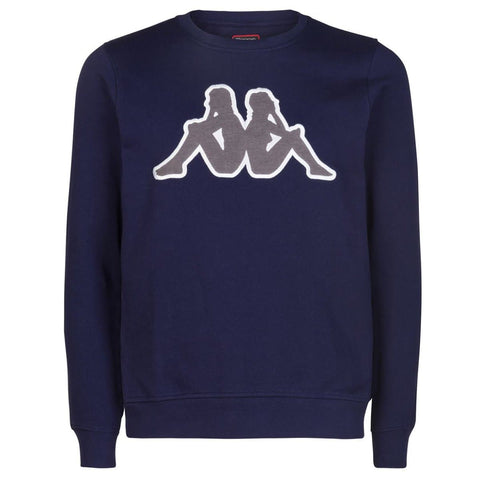 Kappa Logo Airivit Sweat Navy/Grey