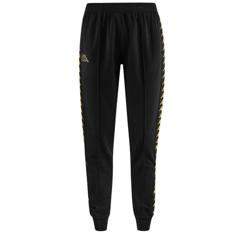 Kappa Rastoria Slim 222 Banda Pants Black/Gold