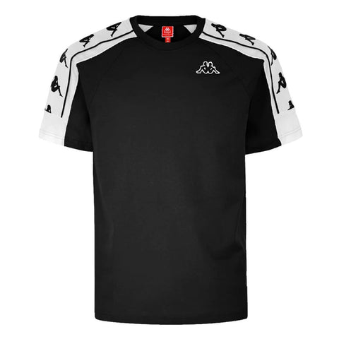 Kappa 222 Banda 10 Arset T-Shirt Black