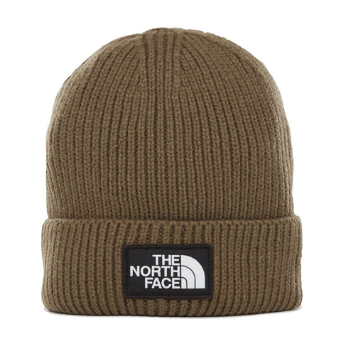 The North Face TNF Logo Box Beanie Green
