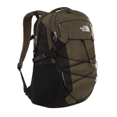 North Face Borealis Backpack Green/Black