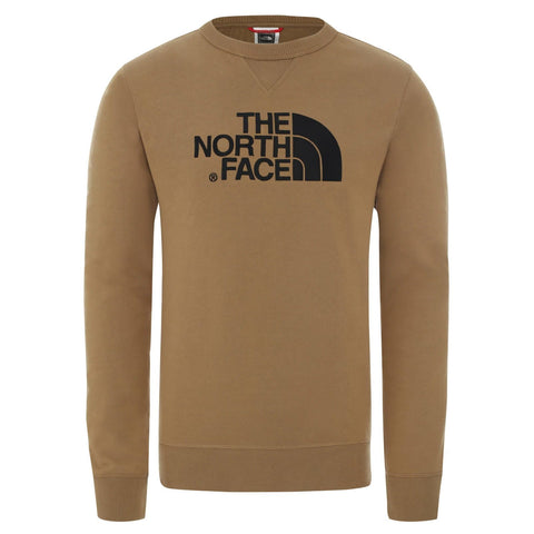 North Face Drew Peak Light Sweat Castanho/Preto Frente