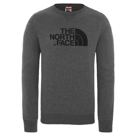 North Face Drew Peak Light Sweat Cinza/Preto Frente