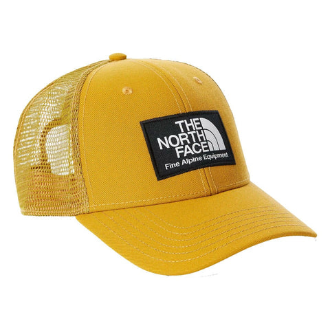The North Face DF Mudder Trucker em Matcha Green. Foto de frente a 3/4.