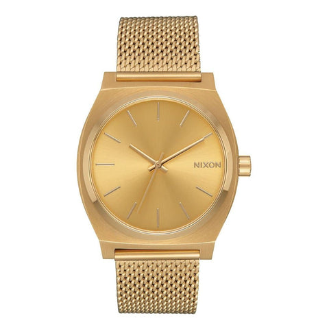 Nixon Time Teller Milanese All Gold