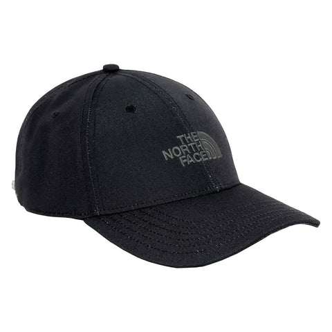 The North Face Recycled 66 Classic Hat em TNF Black. Foto de frente a 3/4.