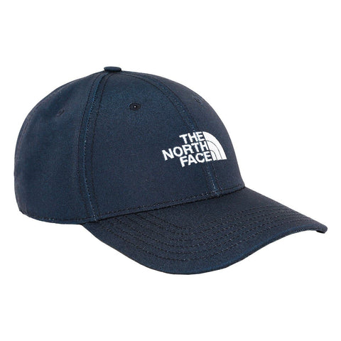 The North Face Recycled 66 Classic Hat em Aviator Navy. Foto de frente a 3/4.