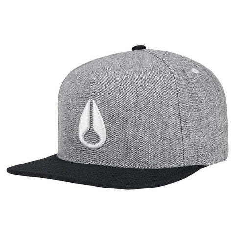 Nixon Simon Snapback Heather Grey/Black/White