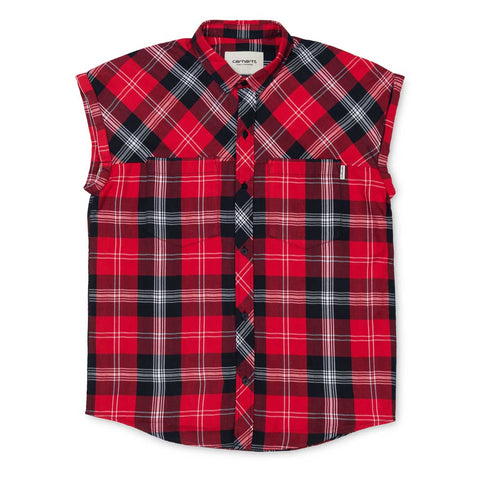 Carhartt W' Leila Shirt Chili/Navy