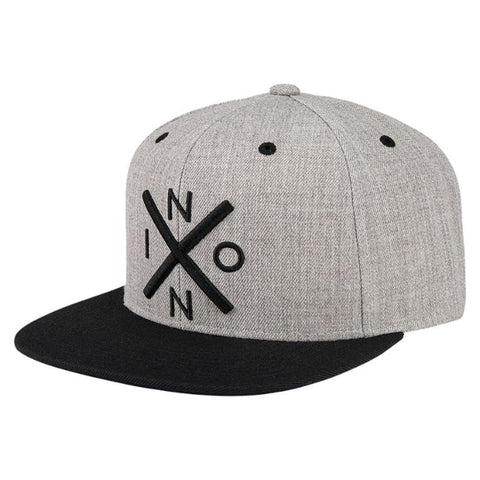 Nixon Exchange Snapback Heather Grey/Black