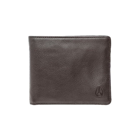 Nixon Satellite Big Bill Bi-fold Wallet Brown