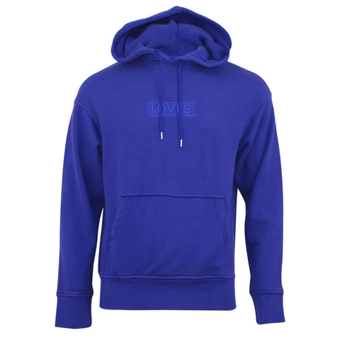 Levi's Relaxed Graphic Hoodie Royal Blue