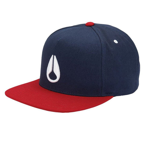 Nixon Simon Snapback Navy/Red