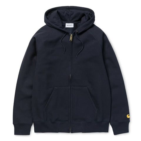 Carhartt Chase Jacket Dark Navy/Gold