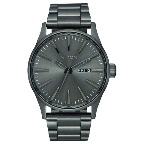 Nixon Sentry SS All Gunmetal Frente