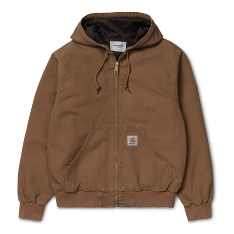 Carhartt WIP Active Jacket Hamilton Brown Front
