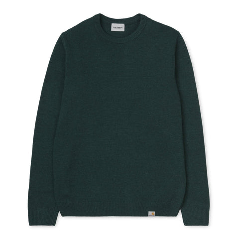 Carhartt WIP Allen Sweater Dark Fir