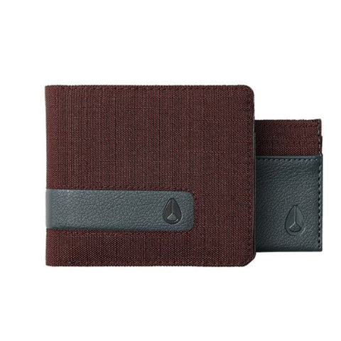 Nixon Showtime Bi-fold ID Zip Wallet Port