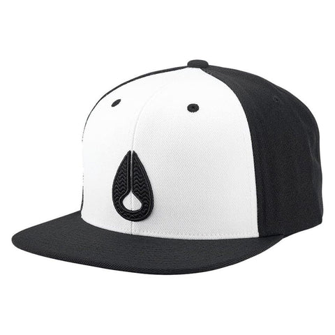 Nixon Icon Snapback White/Black