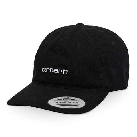 Carhartt WIP Canvas Coach Cap Black/White