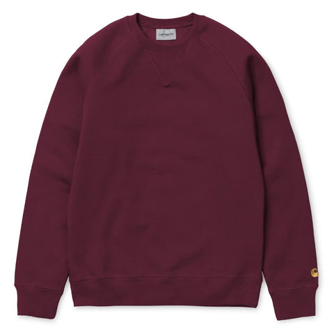 Carhartt Chase Sweat Mulberry/Gold