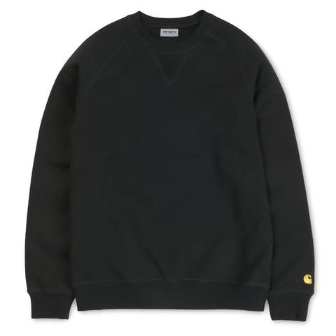Carhartt Chase Sweat Black/Gold