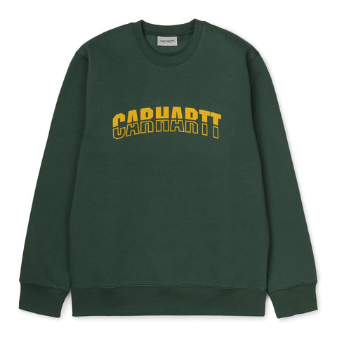 Carhartt District Sweat Treehouse/Fresco Front