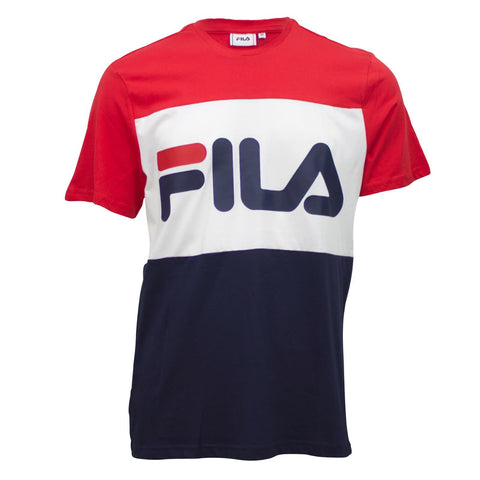 Fila Day T-Shirt Red/White/Navy