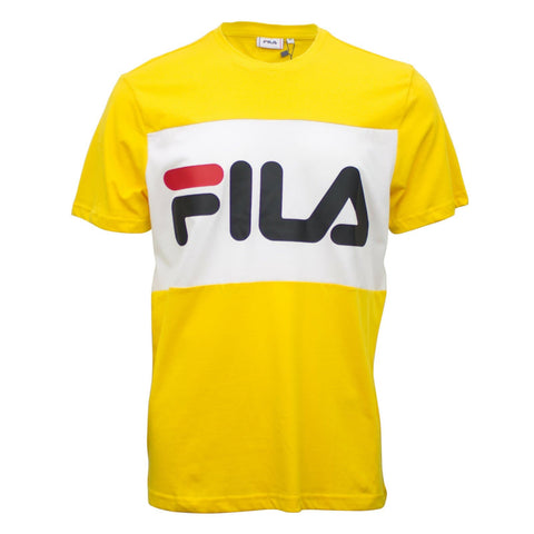Fila Day T-Shirt Yellow/White