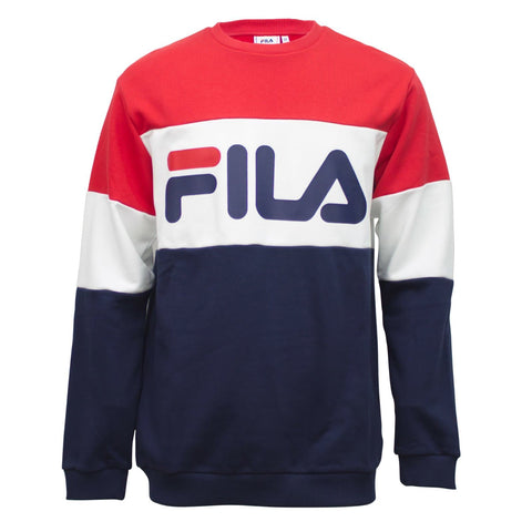 Fila Straight Blocked Crew Sweatshirt